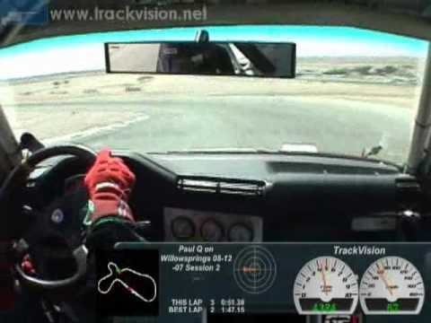 Turbo BMW M42 on Willowsprings One Lap (#3)