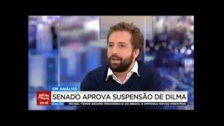 Em TV portuguesa, Gregorio Duvivier (Porta dos fundos)critica Temer e desmascara o golpe