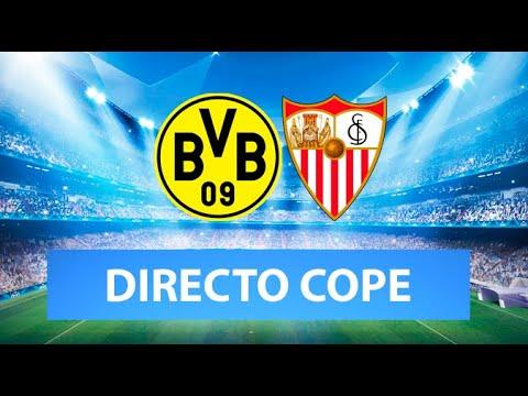 (SOLO AUDIO) Directo del Borussia 2-2 Sevilla en Tiempo de Juego COPE
