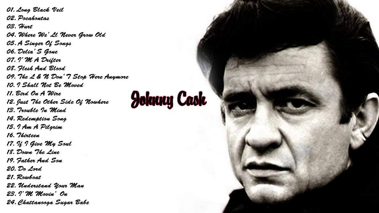 johnny cash greatest hits johnny cash collection cover 2017 youtube. Black Bedroom Furniture Sets. Home Design Ideas