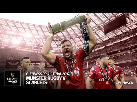 The Guinness PRO12 Final 2016/17: Munster Rugby v Scarlets Rugby | Official Highlights