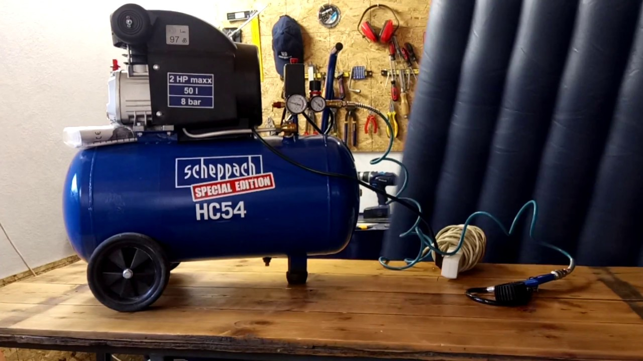 Scheppach Hc24v compresor