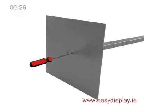 Pyramid Display Stand- Easydisplay.ie