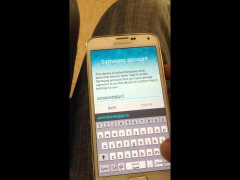 Samsung account login