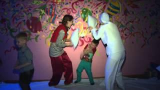 """Детские праздники """"Винни-Пух"""" в Саратове. Бумажное шоу."""