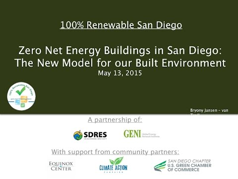 Net Zero Energy Buildings - San Diego Renewable Energy Socie