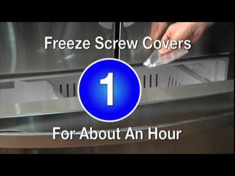 & Screw Plug Replacement u2013 Mastercraft® Exterior Door - YouTube