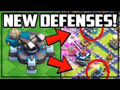 NEW DEFENSES: SCATTERSHOT! Clash Of Clans TH13 UPDATE Sneak Peek #3!