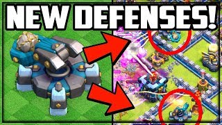 NEW DEFENSES: SCATTERSHOT! Clash of Clans TH13 UPDATE Sneak Peek #3!