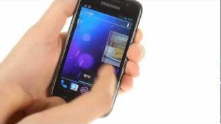 Samsung Galaxy S running Android 4.0 Ice Cream Sandwich