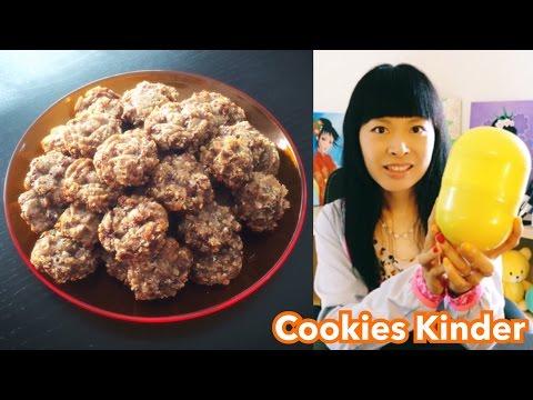 cookies-au-kinder-surprise-[recette-facile]-[goûter-/-dessert]-4-ingrédients,-léger-vitaminé
