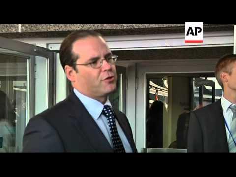 European Union finance ministers meet, Reynders on Dexia