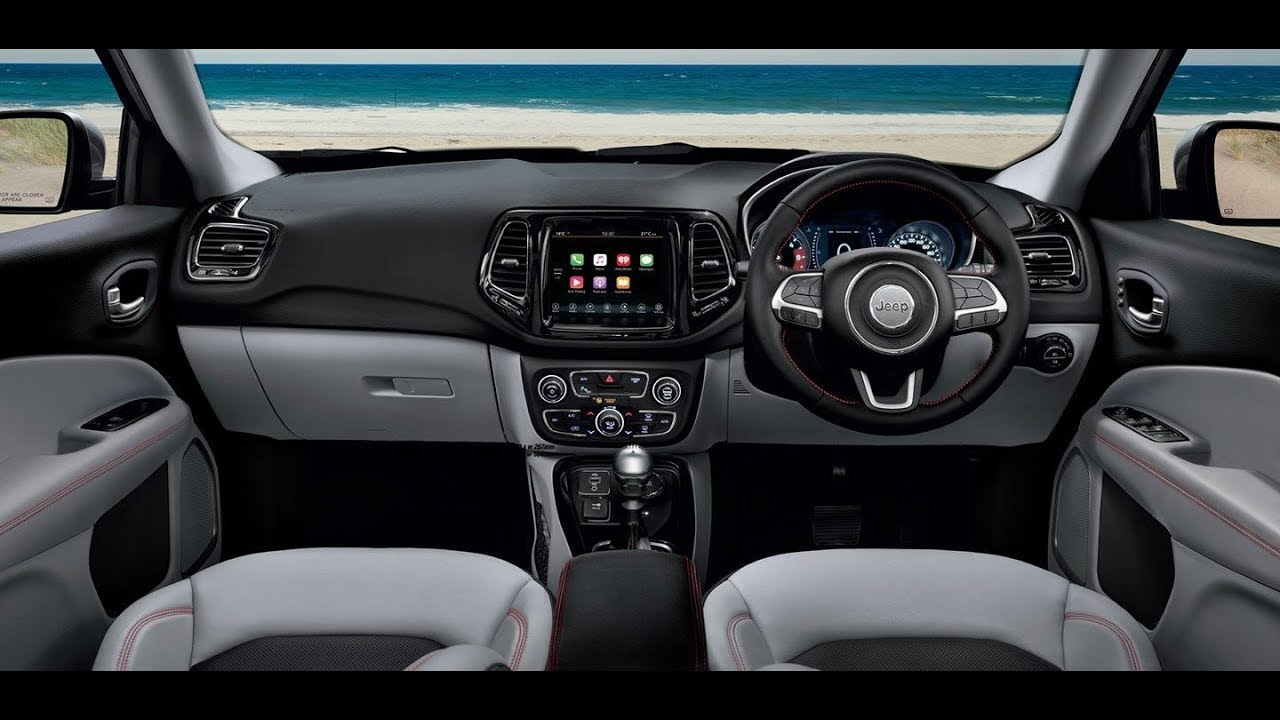 Jeep Compass Limited Plus Interior India