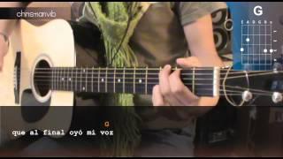 """Cómo tocar """"Juntos a la Par"""" de Pappo en Guitarra (HD) Tutorial - Christianvib"""
