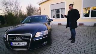 Audi A8 4.2 Tdi Quattro /// Наш Новый Рабочий Автомобиль
