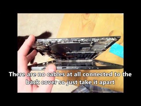toshiba-portégé-z20t-laptop-disassembly-ssd-replacement