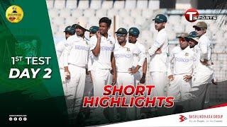 Short Highlights   Bangladesh vs West Indies   Day 2   Test Series