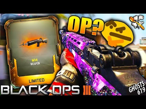 Black Ops 3 NEW M14 is INSANE! BO3 NEW Weapons!