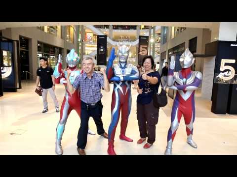 Ultraman Live in Genting Roadshow