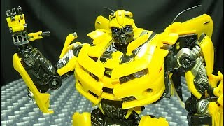 MPM-3 Masterpiece Movie BUMBLEBEE EmGo&#39s Transformers Reviews N&#39 Stuff