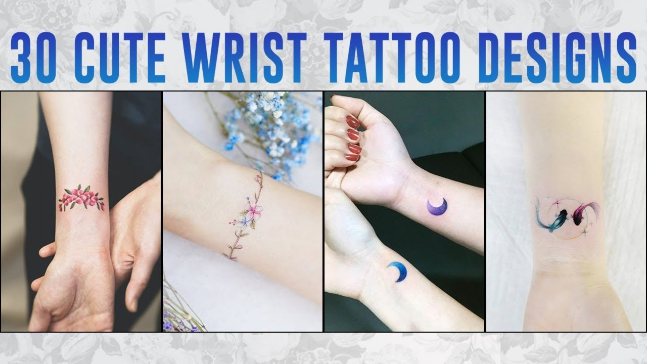 Cute Wrist Tattoo Designs For Girls Ultra Tattos Download Tattoo Images Youtube