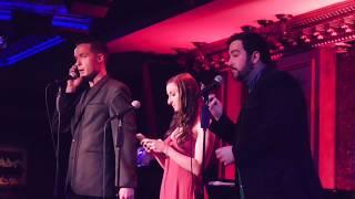 """Jamie Boswell, Lisa Michelle Wyner, & Bryan Miner - """"Opening Doors"""" Parody @ Feinstein's/54 Below"""