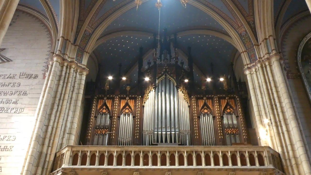 Organ Of The Zagreb Cathedral Orgulje Zagrebacke Katedrale Youtube