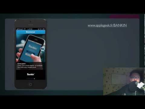 Gérer ses comptes bancaires avec Bankin' pour iPhone
