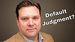 3 Ways to Deal with Your Default Judgment