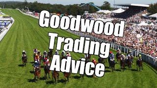Peter Webb, Bet Angel - Betfair trading - Glorious Goodwood