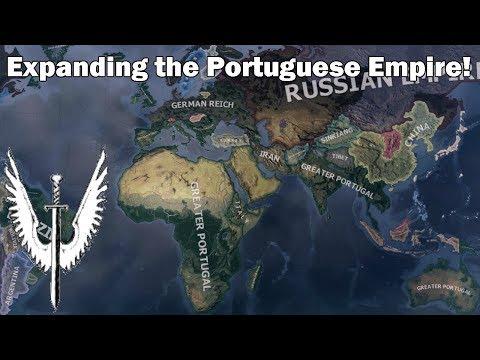 Rebuilding the Portuguese Empire in Hoi4 (Timelapse/Speedrun)