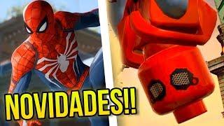 LEGO MARVEL SUPER HEROES 2 E SPIDER-MAN PS4 : NOVIDADES BACANAS!
