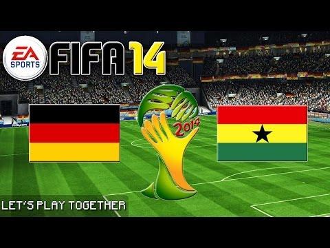 FIFA 14 WM ORAKEL: Deutschland gegen Ghana «» Let's Play FIFA 14