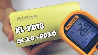 SP#33: Vỏ nhựa mà mát như kim loại! Review pin dự phòng KUULAA KL-YD18 20000mAh hỗ trợ PD3.0, QC3.0