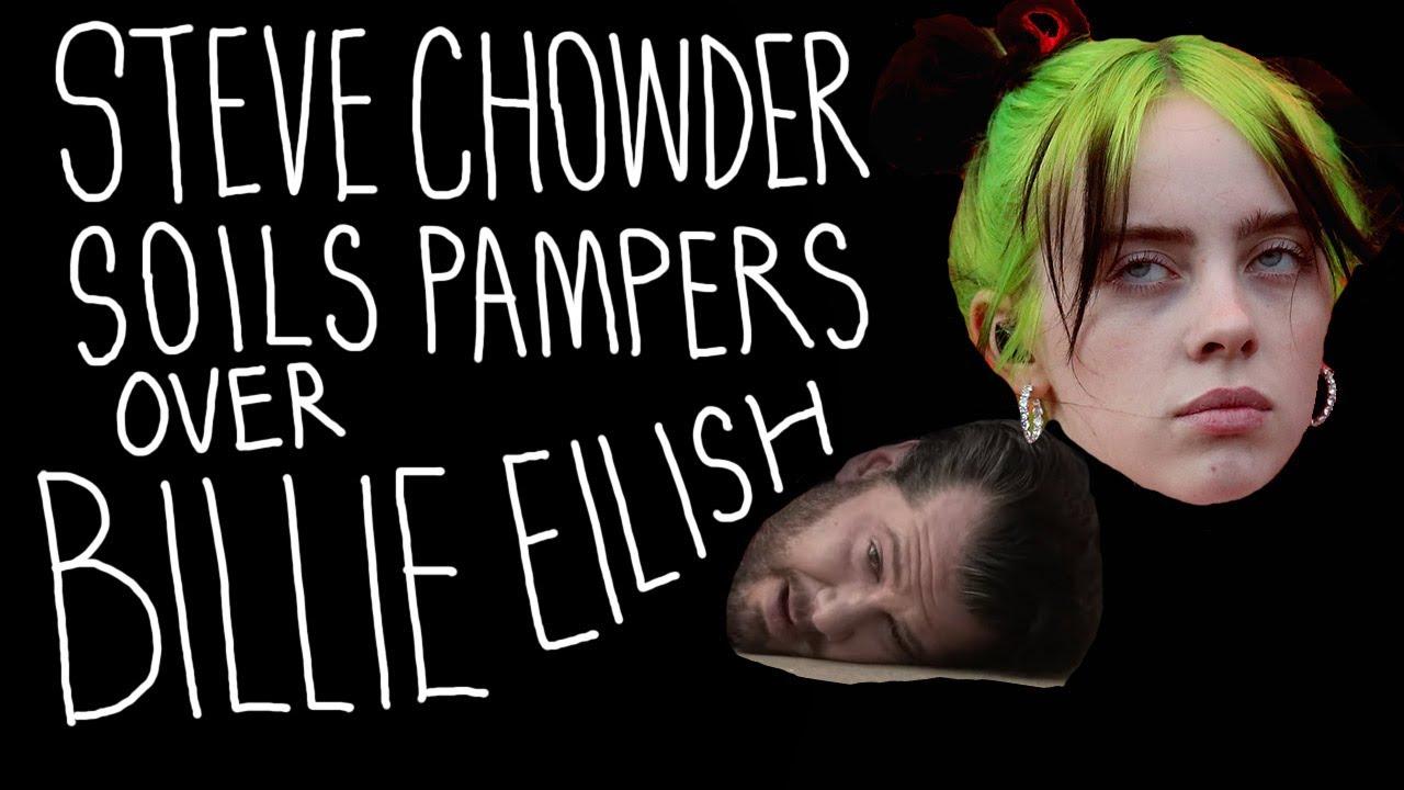 Steven Crowder Soils Pampers Over Billie Eilish