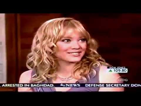 Hilary Duff - Interview On Good Morning America 2003 - HD