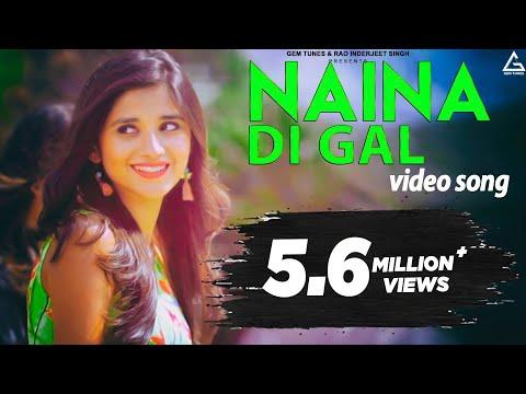 naina-di-gal-|-kanika-mann-|-vishal-ft.-daniel-dollar-|-latest-punjabi-songs-2017-|-yellow-music