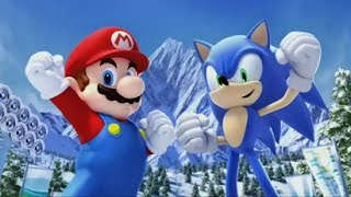 Mario and Sonic at the Olympic Winter Games (Wii) - Festival Mode & End Credits (Solo)