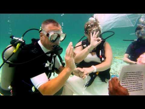 Mary & Jim's Underwater Wedding - Grand Bahama Island, The Bahamas - May 16