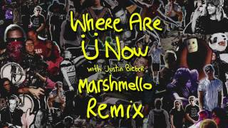 Where Are Ü Now with Justin Bieber Marshmello Remix