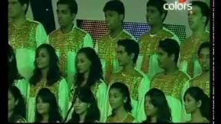 A.R.Rahman @ IPL Awards 2010 VANDE MATARAM