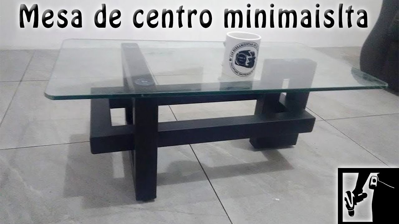Mesa de Centro Minimalista  YouTube