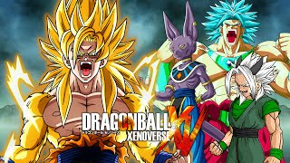 Golden Goku VS SSGSS Broly, Beerus & Xicor | Dragon Ball Xenoverse MODS (Duels)