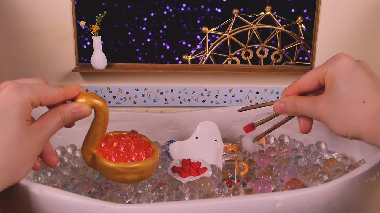 👻영혼 목욕탕 상황극 ASMR🛁|귀청소, 워터비즈