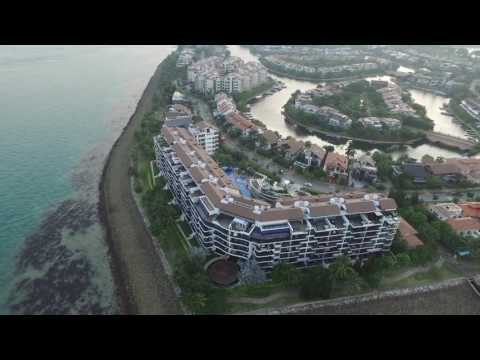 Sentosa Cove by DJI P3Pro