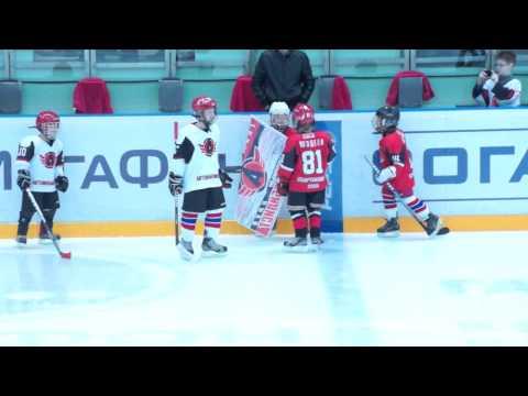 красные vs белые - юные хоккеисты соревнуются в буллитах (30 октября, 2013)
