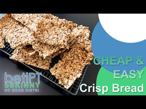 Easy and Cheap Bread Alternative Crunchy Oat Crackers