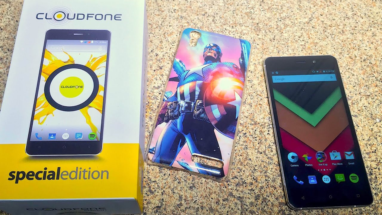 Intel Atom X3 Android Phone – Cloudfone