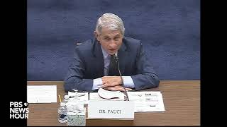 WATCH: Rep. Jim Jordan asks Dr. Fauci if nationwide protests helped spread the coronavirus