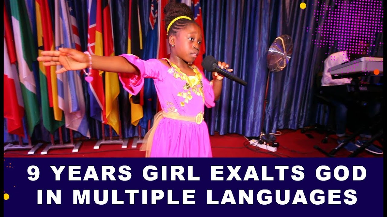 Download WOW 😱 9 Years Old Praises God in MULTIPLE LANGUAGES